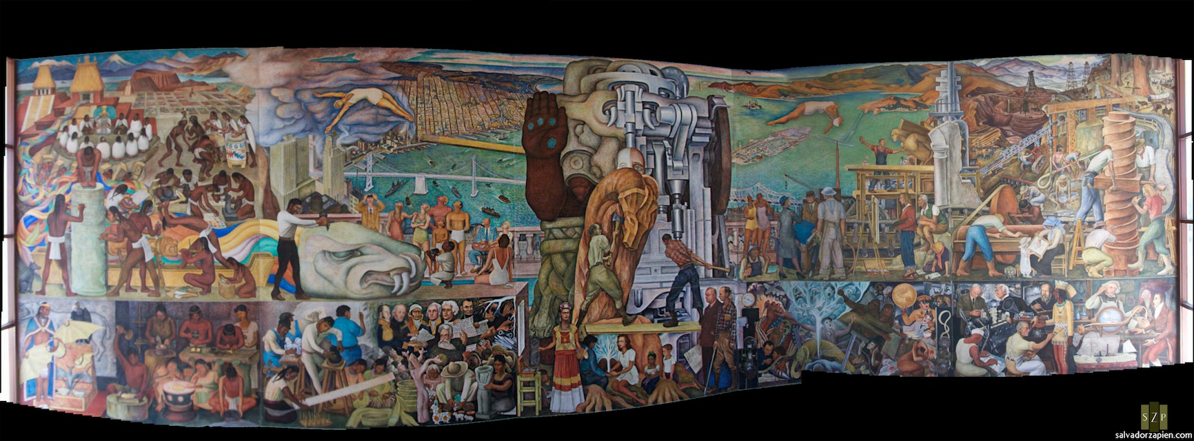 Diego rivera murals in san francisco 28 images ross for Diego rivera mural san francisco